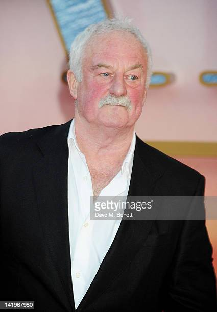 Bernard Hill arrives at the World Premiere of 'Titanic 3D' at the Royal Albert Hall on March 27 2012 in London England