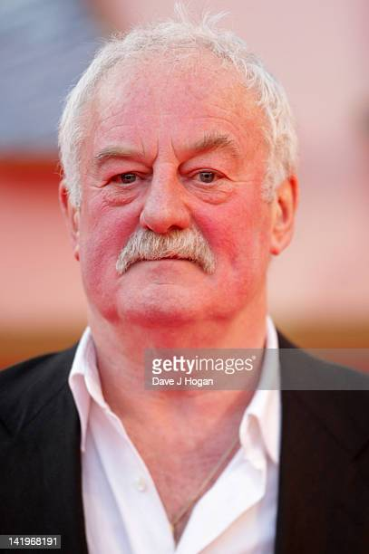 Bernard Hill attends the world premiere of Titanic 3D at The Royal Albert Hall on March 27 2012 in London England