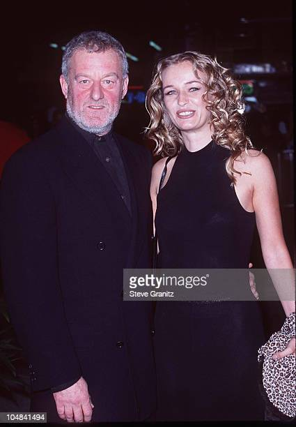 Bernard Hill Camilla Overbye Roos during 'Titanic' Los Angeles Premiere 1997 at Mann Chinese Theatre in Hollywood California United States
