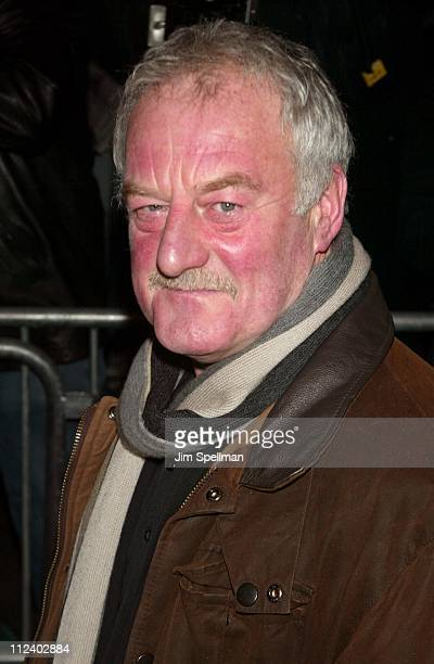 Bernard Hill during The 2004 New York Film Critics Circle 69th Annual Awards Dinner Outside Arrivals at Noche Restaurant in New York City New York...