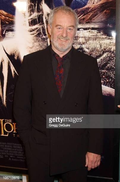 Bernard Hill during 'The Lord Of The Rings The Two Towers' Los Angeles Premiere Arrivals at Cinerama Dome Theatre in Hollywood California United...