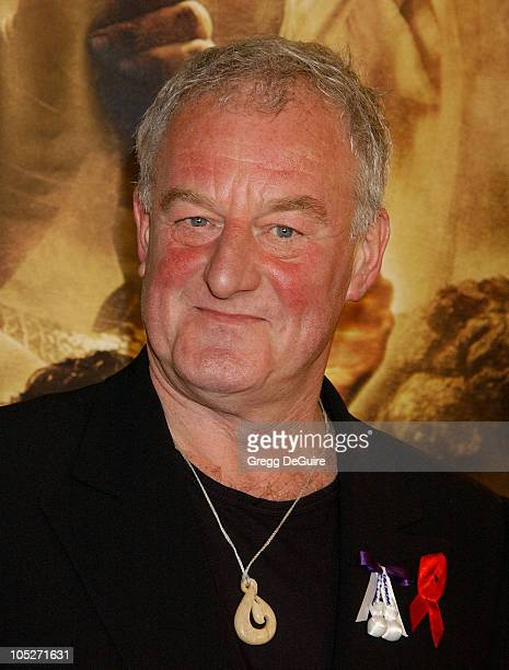 Bernard Hill during 'The Lord Of The RingsThe Return Of The King' Los Angeles Premiere at Mann Village Theatre in Westwood California United States
