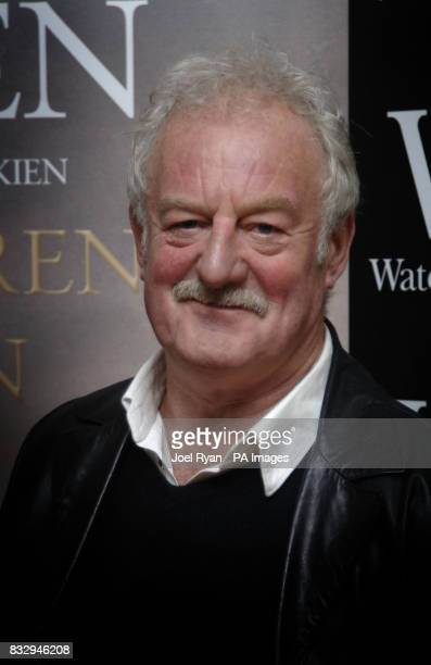 Bernard Hill who played King Theoden in Tolkien's The Lord of the Rings at a launch of the 'Children of Hurin' book in Waterstones Piccadilly London