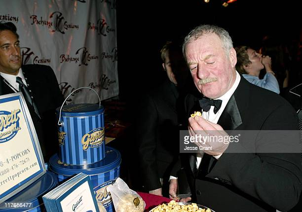 Bernard Hill with Garrett Popcorn Shops during 2004 Screen Actors Guild Awards Backstage Creations Talent Retreat Day Two at Shrine Auditorium in Los...