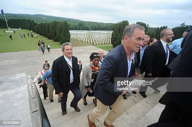 Bernard Hinault during Stage 7 of the Tour de France on Friday 11 July Nancy France