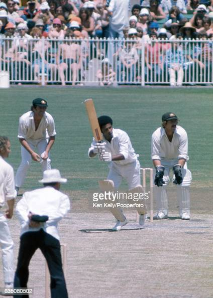 Bernard Julien batting for West Indies during the 3rd Test match between Australia and West Indies at the MCG Melbourne 30th December 1975 The...