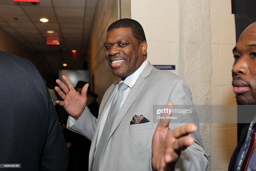 <a gi-track='captionPersonalityLinkClicked' href=/galleries/search?phrase=Bernard+King&family=editorial&specificpeople=214248 ng-click='$event.stopPropagation()'>Bernard King</a> after the 2015 NBA All-Star Game on February 15, 2015 at Madison Square Garden in New York City.