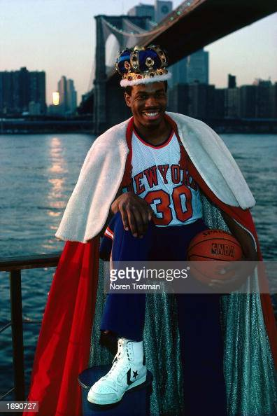 Bernard King of the New York Knicks poses for a 1984 portrait in New York New York NOTE TO USER User expressly acknowledges and agrees that by...