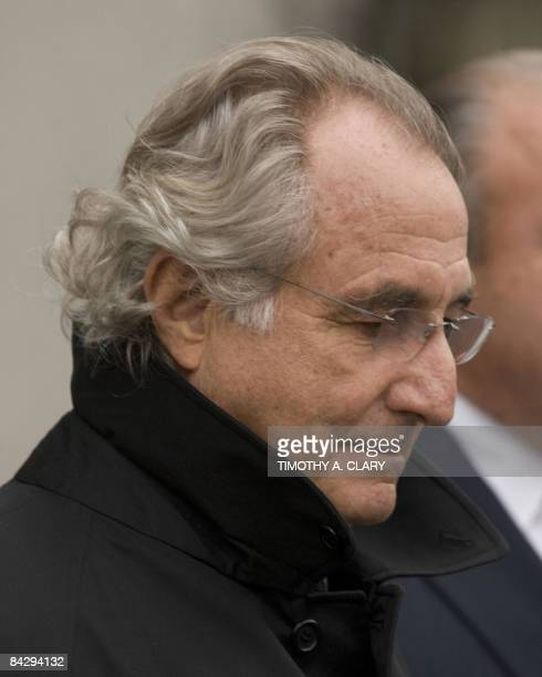 Bernard L Madoff leaves US Federal Court after a hearing regarding his bail in New York Madoff will remain free on bail a US judge ruled Wednesday...