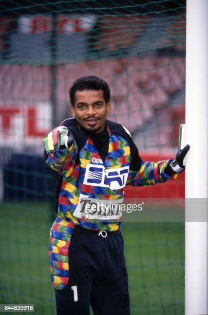 Bernard Lama Magazine Paris Saint Germain Photo Alain Gadoffre / Icon Sport