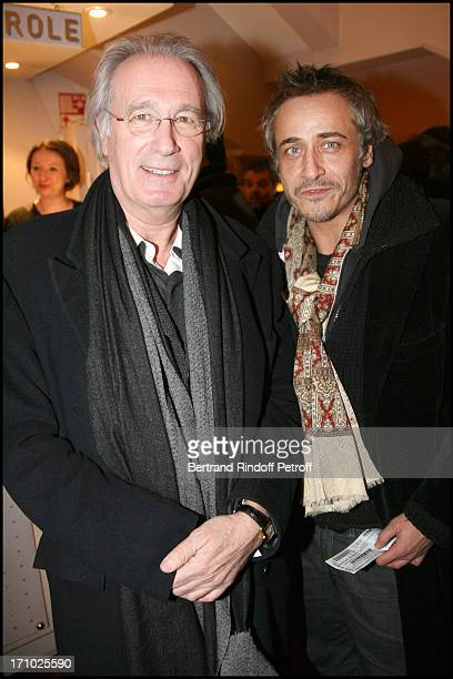 Bernard Le Coq Jean Michel Tinivelli at The 150th Performance Of Jean Claude Grumberg's Show Les Autres At Theatre Des Mathurins In Paris