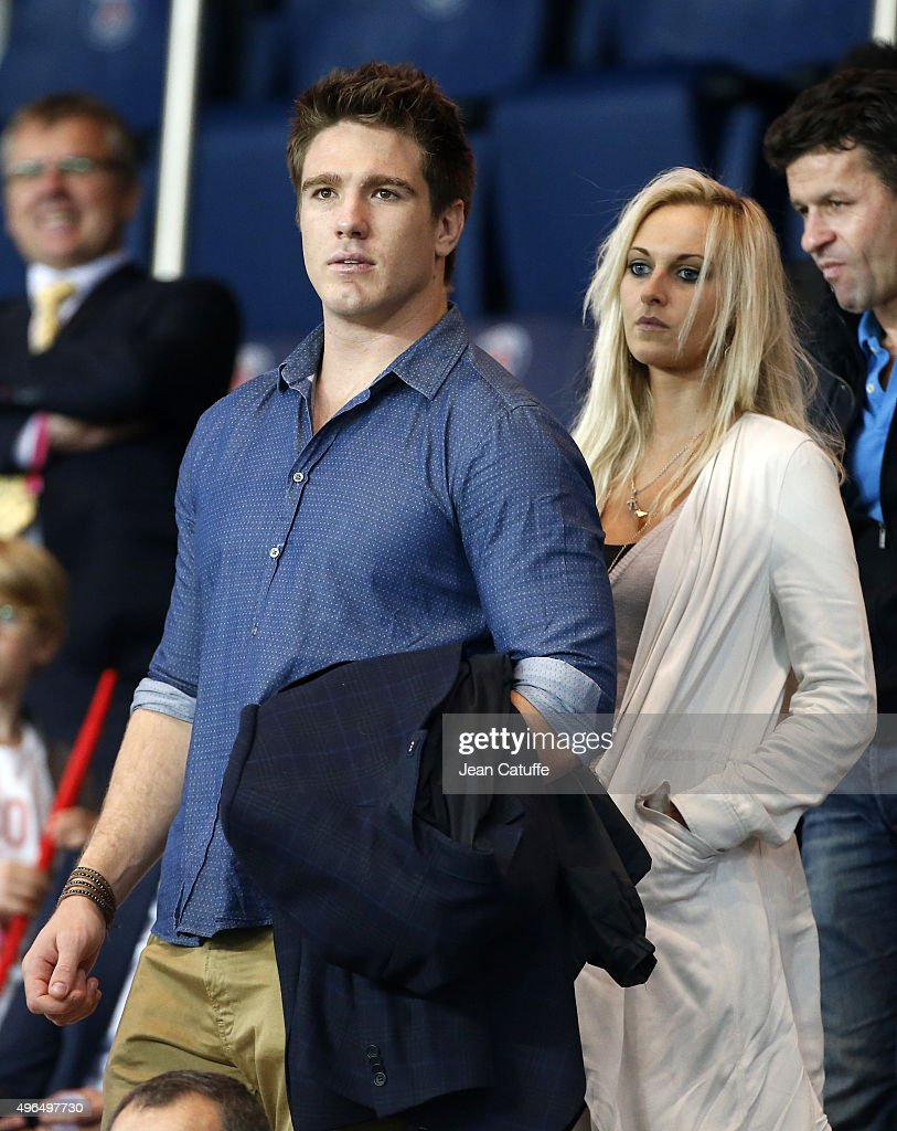 <a gi-track='captionPersonalityLinkClicked' href=/galleries/search?phrase=Bernard+Le+Roux&family=editorial&specificpeople=7397375 ng-click='$event.stopPropagation()'>Bernard Le Roux</a> and his girlfriend Marzanne Van Der Merwe attend the French Ligue 1 match between Paris Saint-Germain (PSG) and Toulouse FC (TFC) at Parc des Princes stadium on November 7, 2015 in Paris, France.