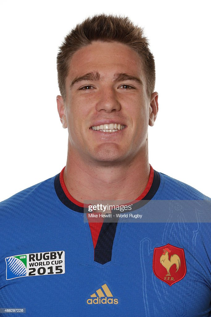 <a gi-track='captionPersonalityLinkClicked' href=/galleries/search?phrase=Bernard+Le+Roux&family=editorial&specificpeople=7397375 ng-click='$event.stopPropagation()'>Bernard Le Roux</a> of France poses during the France Rugby World Cup 2015 squad photo call at the Selsdon Park Hotel on September 15, 2015 in Croydon, England.