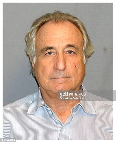 Bernard Madoff mugshot in circa 2008