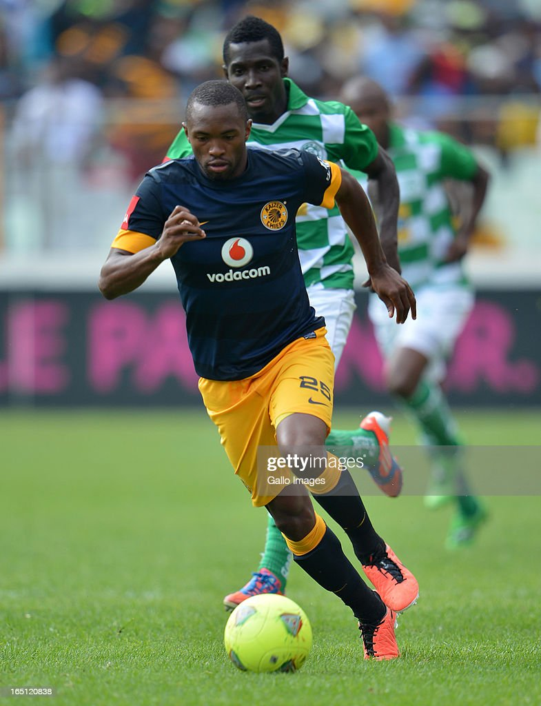 Bernard Melvin Parker during the Absa Premiership match between Bloemfontein Celtic and Kaizer Chiefs at FNB Stadium on March 31, 2013 in Johannesburg, South Africa.