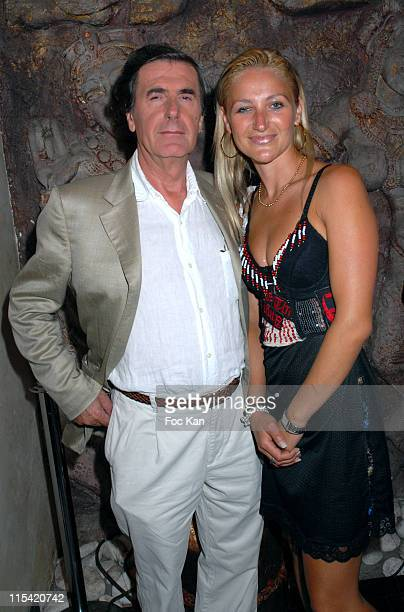 Bernard Menez and Cristina from the French TV Serial 'Saint Tropez Non Stop '