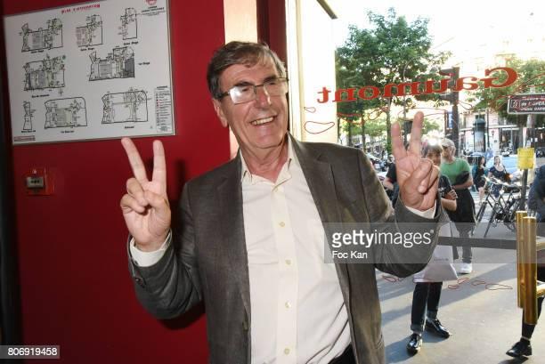 Bernard Menez attends Loue Moi Paris Premiere at Gaumont Opera Capucines on July 3 2017 in Paris France