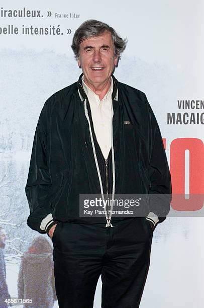 Bernard Menez attends the Paris Premiere of 'Tonnerre' on January 28 2014 in Paris France