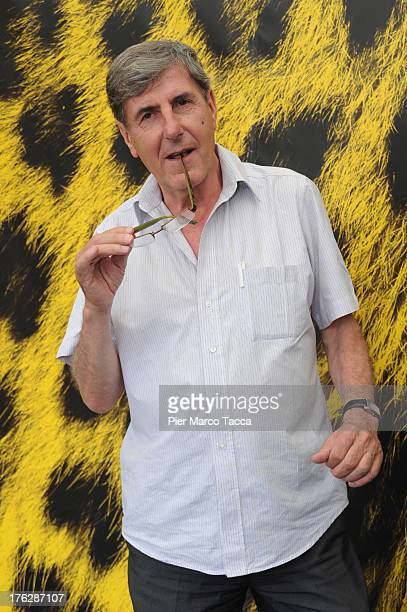 Bernard Menez attends 'Tonnerre' photocall during the 66th Locarno Film Festival on August 12 2013 in Locarno Switzerland