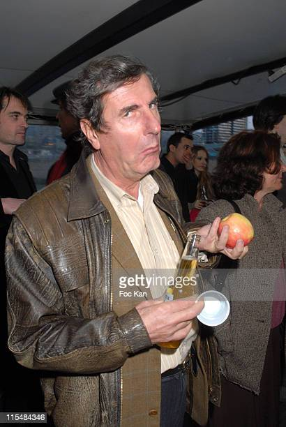 Bernard Menez during Jalons Supports Jacques Chirac's Candidature For the 2007 Presidential Election Party March 26 2007 at River's King Boat in...