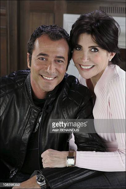 Bernard Montiel and Josiane Balasko in Monaco on April 18 2005
