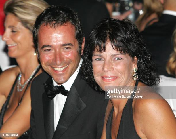 Bernard Montiel and Princess Stephanie of Monaco during Monaco Red Cross Ball 2004 Dinner at Monte Carlo Sporting Club in MonteCarlo