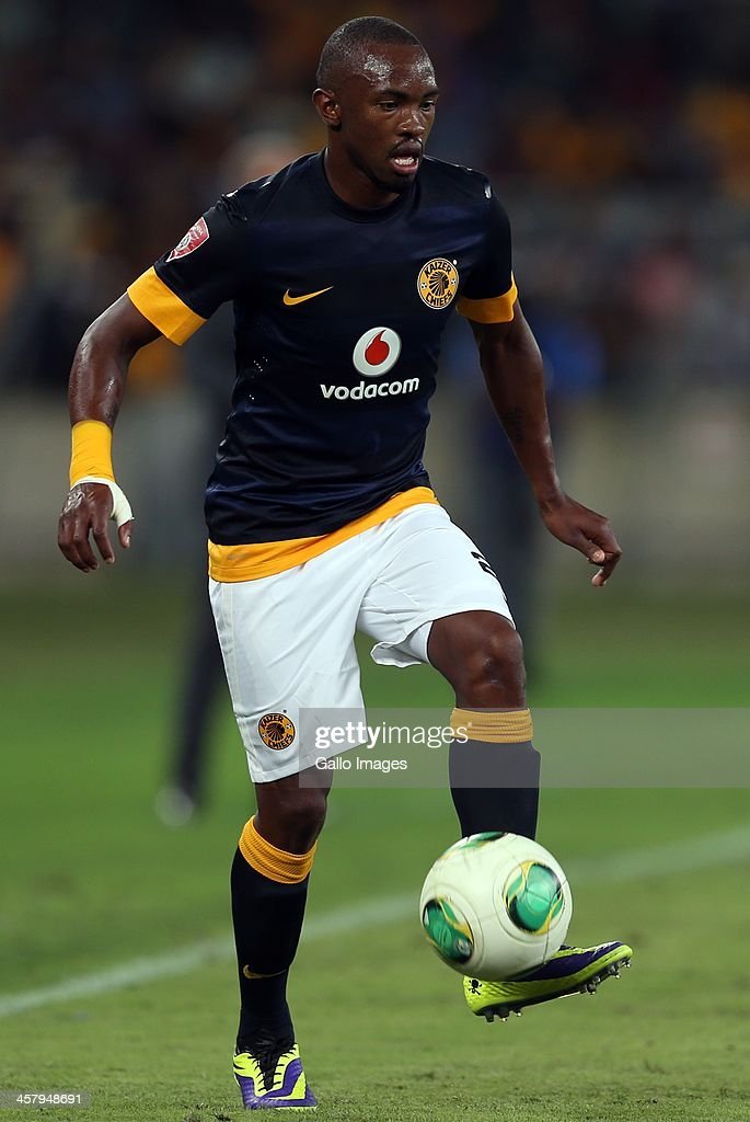 <a gi-track='captionPersonalityLinkClicked' href=/galleries/search?phrase=Bernard+Parker&family=editorial&specificpeople=1003236 ng-click='$event.stopPropagation()'>Bernard Parker</a> of Kaizer Chiefs during the Absa Premiership match between Golden Arrows and Kaizer Chiefs at Moses Mabhida Stadium on December 19, 2013 in Durban, South Africa.
