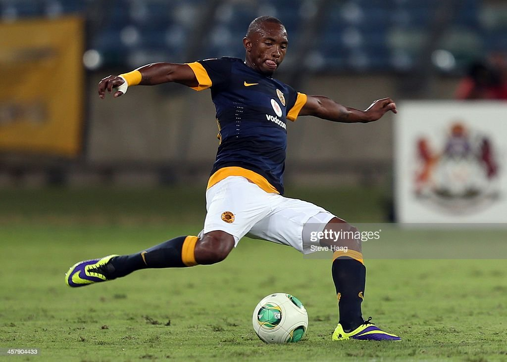 Bernard Parker of Kaizer Chiefs in action during the Absa Premiership match between Golden Arrows and Kaizer Chiefs at Moses Mabhida Stadium on December 19, 2013 in Durban, South Africa.