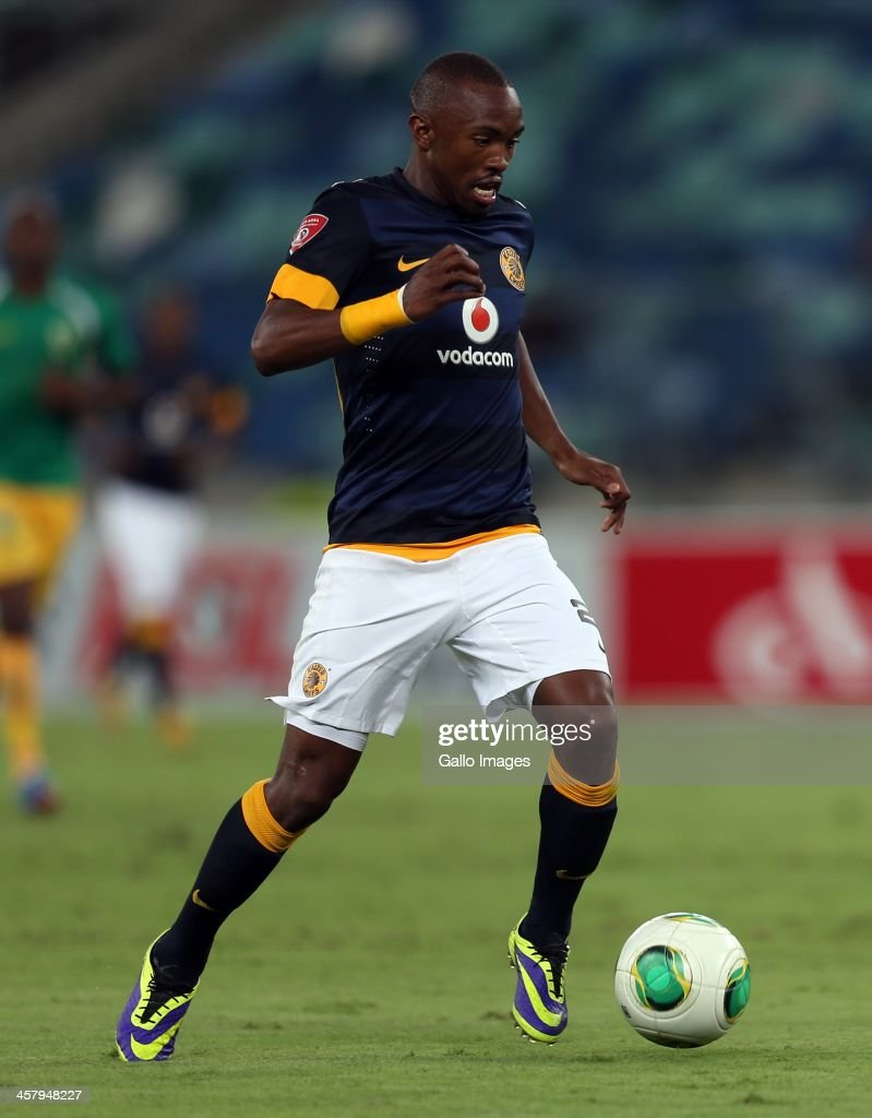 Bernard Parker of Kaizer Chiefs on attack during the Absa Premiership match between Golden Arrows and Kaizer Chiefs at Moses Mabhida Stadium on December 19, 2013 in Durban, South Africa.