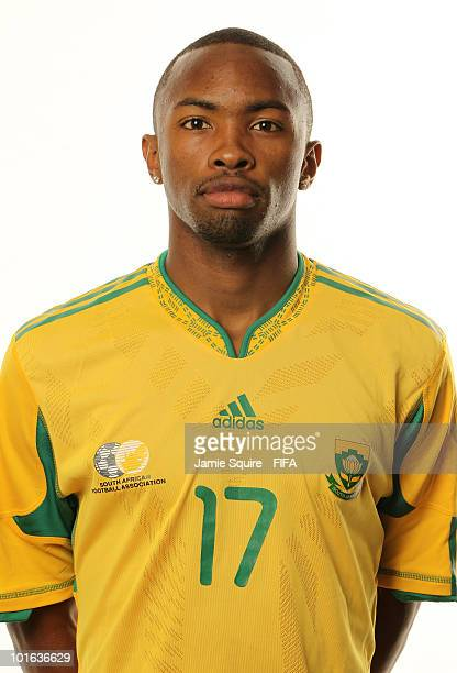 Bernard Parker of South Africa poses during the official FIFA World Cup 2010 portrait session on June 4 2010 in Johannesburg South Africa