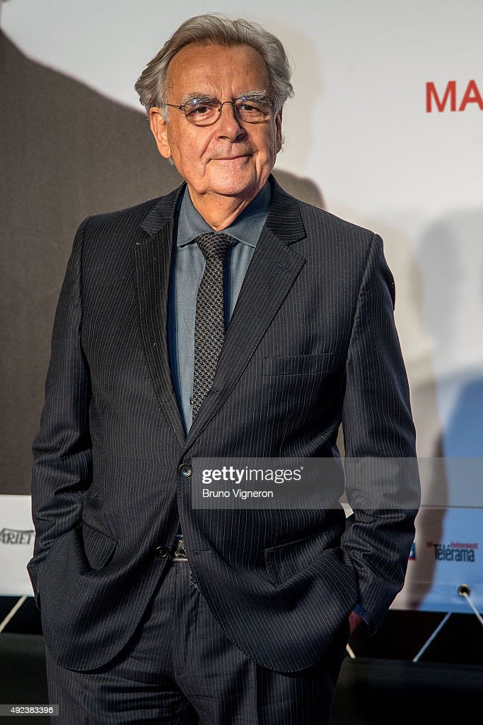 Bernard Pivot attends the Opening Ceremony of the 7th Film Festival Lumiere on October 12, 2015 in Lyon, France.