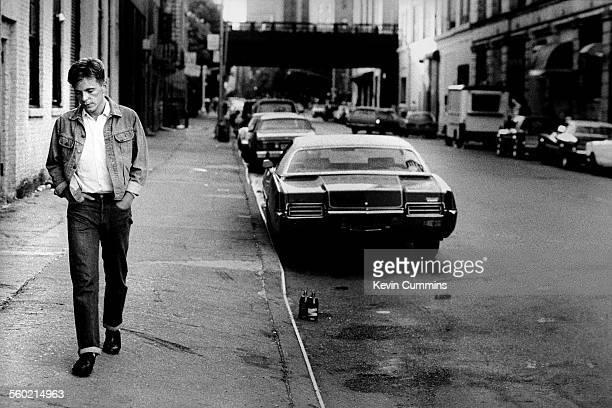 Bernard Sumner of New Order in New York 9th July 1983