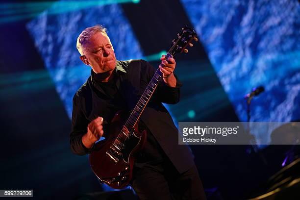 Bernard Sumner of New Order performs at Electric Picnic Festival at Stradbally Hall Estate on September 4 2016 in Laois Ireland