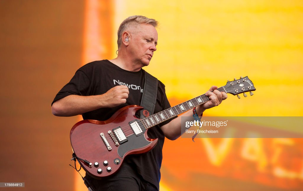 <a gi-track='captionPersonalityLinkClicked' href=/galleries/search?phrase=Bernard+Sumner&family=editorial&specificpeople=220306 ng-click='$event.stopPropagation()'>Bernard Sumner</a> of New Order performs during Lollapalooza 2013 at Grant Park on August 2, 2013 in Chicago, Illinois.