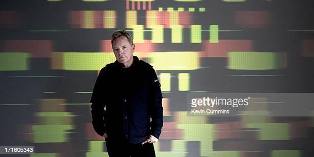 Bernard Sumner of New Order poses for a studio portrait UK 22nd September 2011