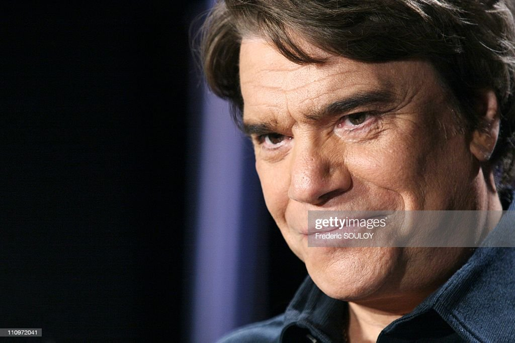 <a gi-track='captionPersonalityLinkClicked' href=/galleries/search?phrase=Bernard+Tapie&family=editorial&specificpeople=586829 ng-click='$event.stopPropagation()'>Bernard Tapie</a> in Tv talk show Campus hosted by Guillaume Durand in Paris, France on June 27th, 2005.