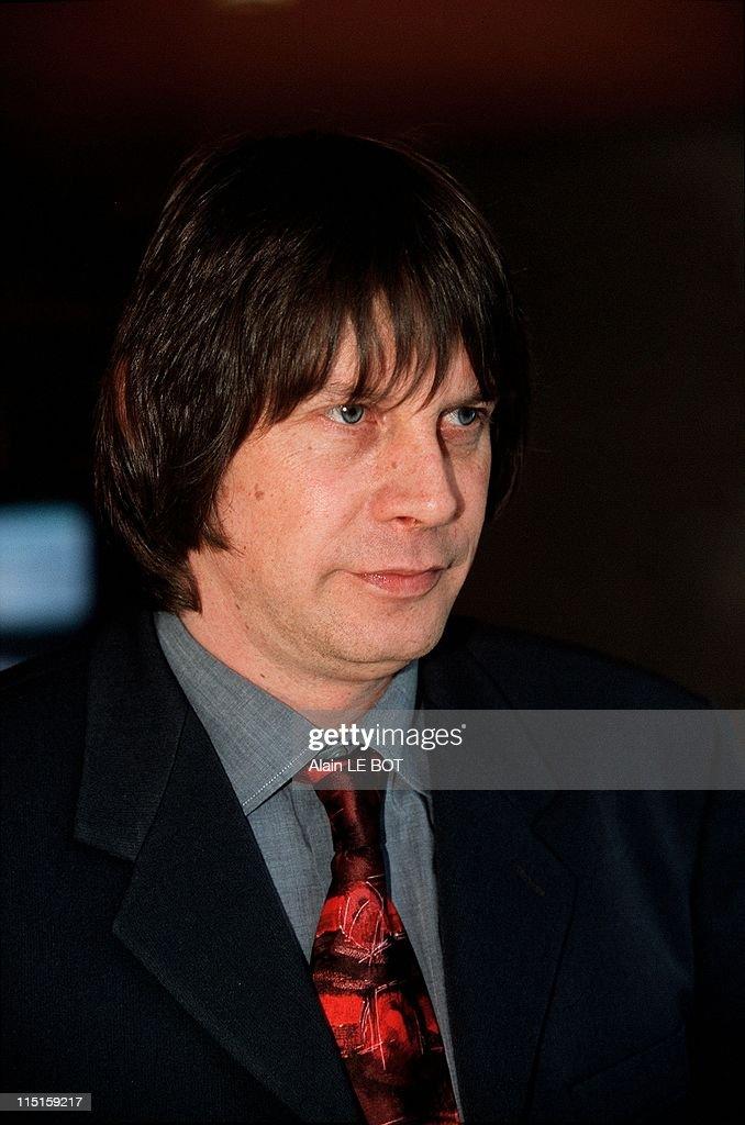 Bernard Thibault general secretary of CGT in France on March 09 2000
