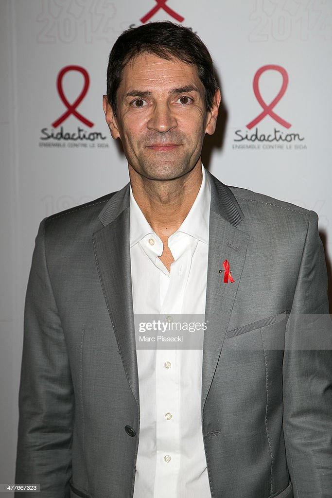 Bernard Thomasson attends the 'Sidaction 20th Anniversary' at Musee du Quai Branly on March 10, 2014 in Paris, France.