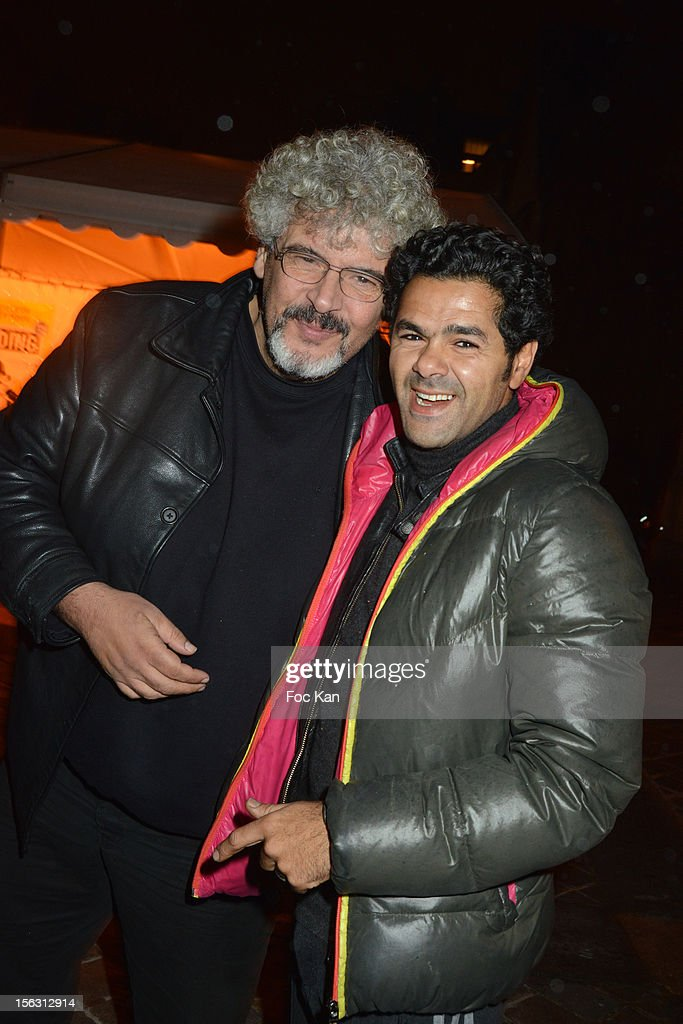 Bernard Zekri and <a gi-track='captionPersonalityLinkClicked' href=/galleries/search?phrase=Jamel+Debbouze&family=editorial&specificpeople=606837 ng-click='$event.stopPropagation()'>Jamel Debbouze</a> attend the Fooding Awards 2013 - New Guide Launch And Celebration at Les Beaux-Arts de Paris on November 12, 2012 in Paris, France.