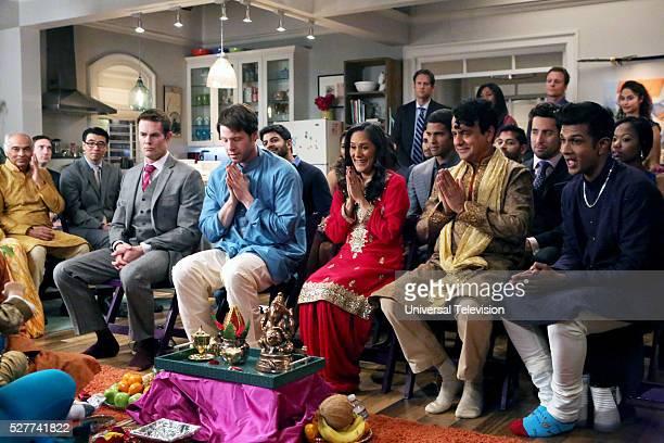 PROJECT 'Bernardo Anita' Episode 418 Pictured Garret Dillahunt as Jody Kimball Ike Barinholtz as Morgan Tookers Sakina Jaffrey as Soni Lahiri Ajay...