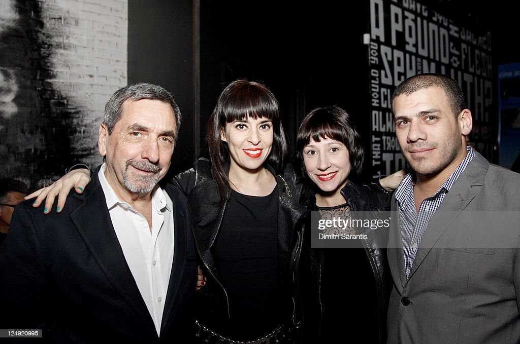 Bernardo Bergeret, Directors Tamae Garateguy, producer Jimena Monteoliva, Argentinian film embassador Alejandro Righini attends 'City to City Cocktail Party' at F-Stop during the 2011 Toronto International Film Festival at F-Stop on September 13, 2011 in Toronto, Canada.