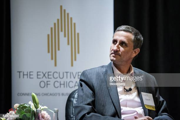 Bernardo Hees chief executive officer of the Kraft Heinz Co listens during an Executives' Club of Chicago event in Chicago Illinois US on Monday Sept...