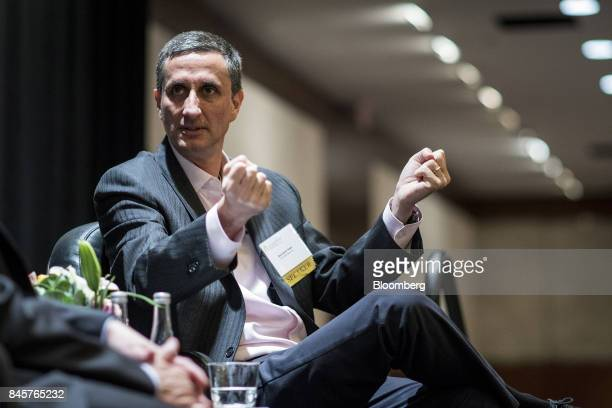 Bernardo Hees chief executive officer of the Kraft Heinz Co speaks during an Executives' Club of Chicago event in Chicago Illinois US on Monday Sept...