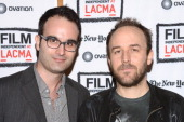 Bernardo Rondeau and Director/CoWriter Derek Cianfrance attend the Film Independent @ LACMA presents 'A Place Beyond The Pines' special screening and...