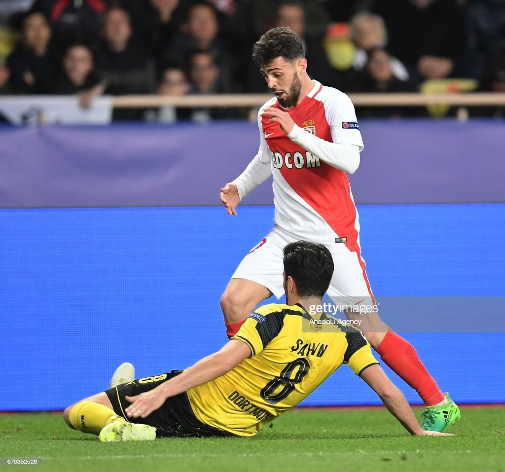 AS Monaco v Borussia Dortmund UEFA Champions League