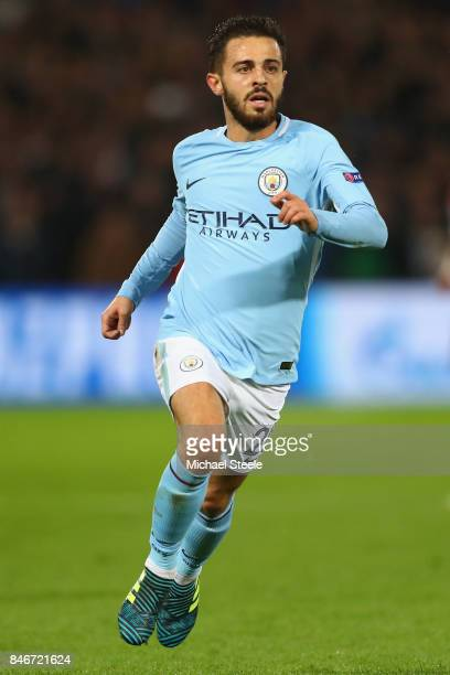 Bernardo Silva of Manchester City during the UEFA Champions League group F match between Feyenoord and Manchester City at Feijenoord Stadion on...