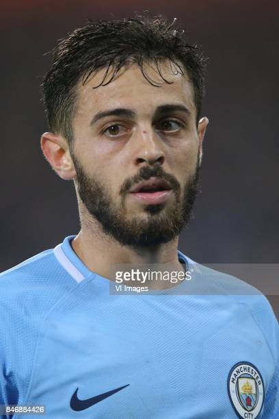 Bernardo Silva of Manchester City during the UEFA Champions League group F match between Feyenoord Rotterdam and Manchester City at the Kuip on...