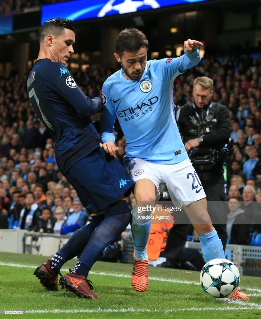 Manchester City FC vs SSC Napoli UEFA Champions League