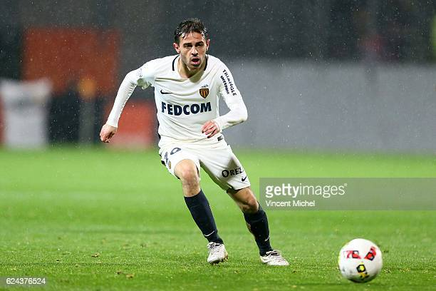 Bernardo Silva of Monaco during the Ligue 1 match between Fc Lorient and As Monaco at Stade du Moustoir on November 18 2016 in Lorient France
