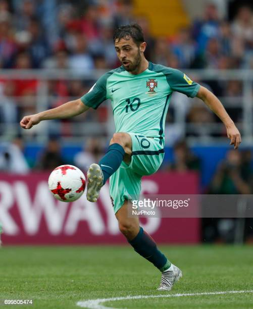 Bernardo Silva of Portugal national team during the Group A FIFA Confederations Cup Russia 2017 match between Russia and Portugal at Spartak Stadium...